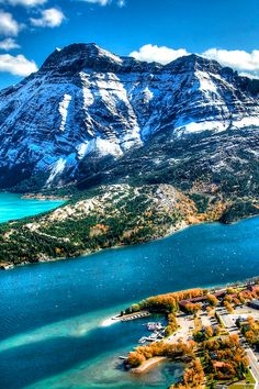 Waterton Lakes National Park°°