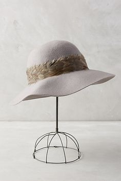 Plumage Floppy Hat #anthropologie