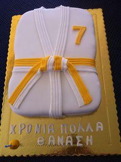 JUDO SHIRT CAKE