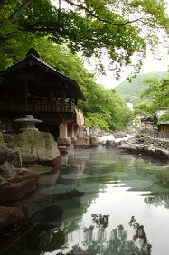 "Japan has always been a dream destination of mine. I've always wanted to experience an ""onsen"" or a hot spring inn!"
