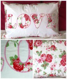 LOVE Cushion - The Supermums Craft Fair