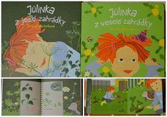 Příběhy o holčičce Jůlince, která žije na vyumělkované zahradě a ráda ba na ní měla i berušky, motýly, ježka.. A tak se se zvířátky radí, co na zahradě zasadit, aby tam zvířátkům bylo dobře :-)