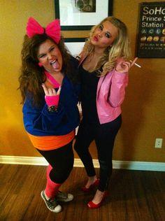 DIY 80's and Sandy Halloween Costume