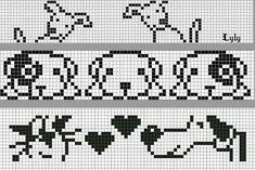 "Knitting. Jacquard - ""Winter Rainbow"" | VK Fair Isle Knitting Patterns, Knitting Charts, Knitting Stitches, Crochet Chart, Bead Crochet, Filet Crochet, Cross Stitch Embroidery, Embroidery Patterns, Cross Stitch Patterns"