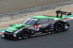 No.24 D'station ADVAN GT-R - 2014 Super GT GT500-class japan