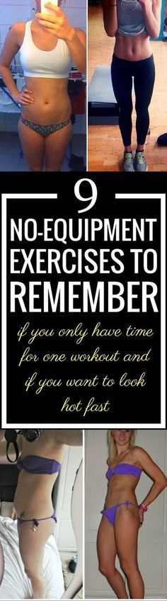 9 No-Equipment Exercises That Work Your Entire Body - Candorist