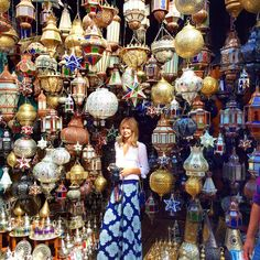Tuula Vintage in Marrakech, Morocco / vintage turkish lanterns in the souk