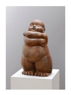 MARIELA - L'étreinte. #sculpture #bronze #mariela #baby #hug #calin #cute #saintvalentin #valentinesday #amour #love #amor #romantique #romance #romantic #galeriemarciano #galerie #art #contemporaryart #artcontemporain #fineart