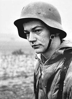 German soldier in Normandy,