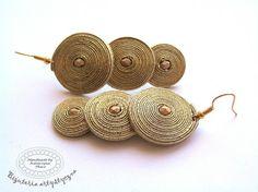 soutache earrings http://katarzynatkacz.blogspot.com