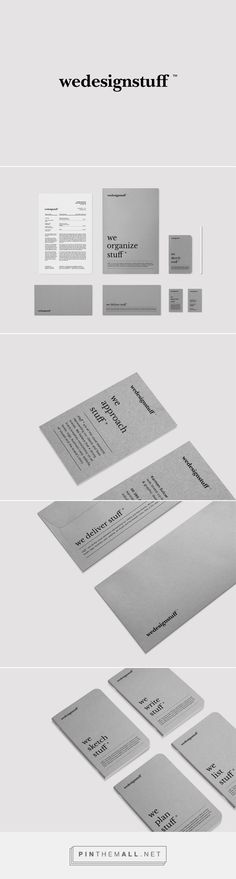 Wedesignstuff personal branding on Behance... - a grouped images picture - Pin…
