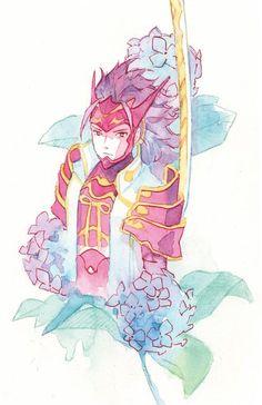 Fire Emblem Fates. Ryoma