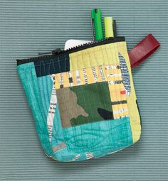 Tia Curtis's Sunshine Pouch in QN's Best Modern Quilts 2014