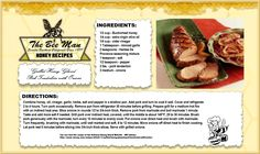 Happy Father's day to all of you wonderful Dad's out there!  Father's Day is going to be a hot one according to the weather man!  Here's a great recipe for the grill!  Yield 4-6 Servings, see full recipe above.