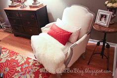 The Blissful Bee: DIY Upholstered Chair