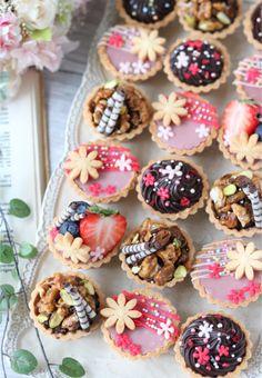 Fancy Desserts, Köstliche Desserts, Delicious Desserts, Dessert Recipes, Yummy Food, Fun Baking Recipes, Tart Recipes, Sweet Recipes, Cute Baking