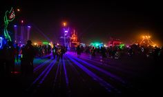Night at Burning Man From #treyratcliff at www.StuckInCustom... - all images Creative Commons Noncommercial.