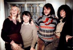 """At the end of February 1978 Swiss TV-team arrived in Stockholm and interviewed the group at the Polar Music Office. Even Finnish press met ABBA the same day. One more interview was done and several photos taken. The Finnish team awarded ABBA with gold records for """"ABBA The Album""""."""