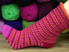 Ravelry: Socke / socks *Polynom* Abo / subscription 2014/03 pattern by Birgit Freyer