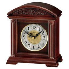 Seiko Desk Table Clock Brown Wooden Case w/ 6 Hi-Fi Melodies Mantel Clocks, Wood Clocks, Mantle, Desktop Clock, Grandfather Clock, Wooden Case, Light Sensor, W 6, Seiko