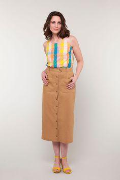 Leonora Skirt Pattern   Seamwork