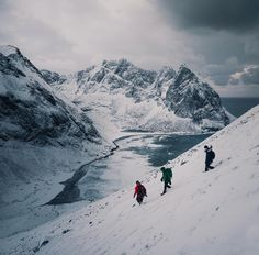 adventure | explore | mountain slopes | snow caps | high views | hiking | thrills