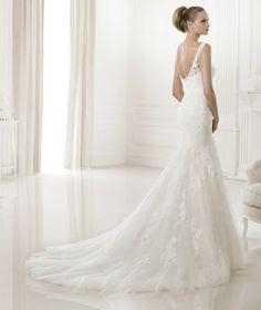 Pronovias Wedding Dresses Pre-2015 Collection Part II. To see more: http://www.modwedding.com/2014/06/10/pronovias-wedding-dresses-2015-collection-part-2/  #wedding #weddings #pronovias