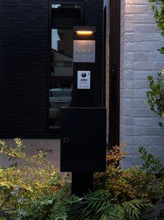 施工写真 Landline Phone, Signage, House Design, Exterior, Billboard, Outdoor Rooms, Architecture Design, House Plans, Signs