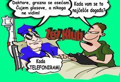 Policajac kod doktora