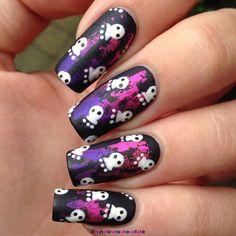 Halloween  by lunaloveschocolate #nail #nails #nailart