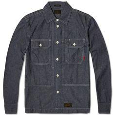 WTAPS Utility Shirt (Indigo)