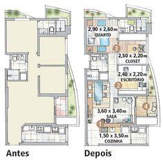 Truques para aproveitar bem o espaço em um apê de 60m2 - Casa.com.br  http://casa.abril.com.br/materia/truques-para-aproveitar-bem-o-espaco-em-um-ape-de-60m2?v=949#