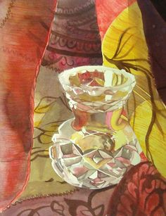 """""""Cut Glass"""", a watercolour by Denise Sutherland"""