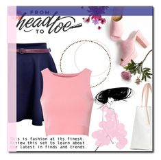 """""""From  Head to Toe"""" by andreagojkovic ❤ liked on Polyvore featuring Glamorous and Crate and Barrel"""