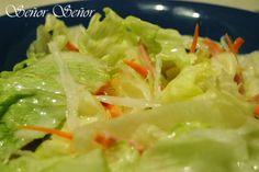 Receta de la salsa blanca agridulce original de la ensalada china(idioma:español)