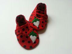 Strawberry shoes @ https://www.etsy.com/shop/Cuddlythreads