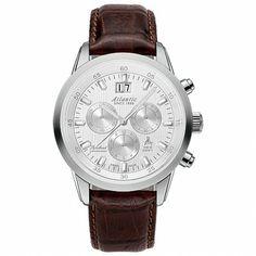 Ceas de Mana Atlantic, Barbatesc, Cod 73460.41.21 - Bocane Watches, Leather, Accessories, Wristwatches, Clocks, Jewelry Accessories