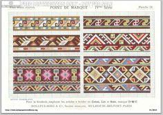 D.M.C. Point de Marque [4] IVme Série. Page 13. Motifs yougoslaves. 1934