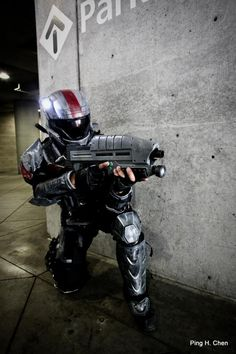 Trooper Mickey from Halo 3: ODST.
