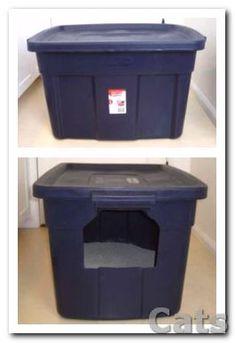 The $6 Litter Box Hider