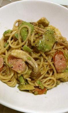 ~わさび香る~ アボカドとしめじのパスタ Paleo Keto Recipes, Healthy Dinner Recipes, Wine Recipes, Asian Recipes, Ethnic Recipes, Easy Cooking, Cooking Recipes, Cook Pad, No Cook Meals