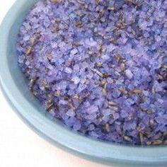 Homemade Bath Salts and Scrubs
