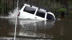 River Crossings Gone Wrong: The most spectacular river crossing by car. 4x4 off road
