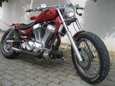 Uma suzuki 1400 CC para quem só conhece as 125 aqui no Brasil.