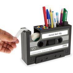 Fab.com | Rewind Desk Tidy Dark Gray