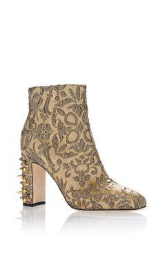 Jacquard Lurex Boot by DOLCE & GABBANA  Gorgeous - I would feel like a princess