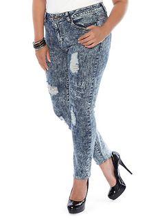 Plus-Size Bottoms - Jeans, Leggings, Skirts & More   Rainbow Shops