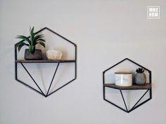 Minimalist Floating Shelf | Custom Made | Handmade | Modern | Interior Design | Wood&Metal | Wall Decor | Industrial | LOFT | Living room