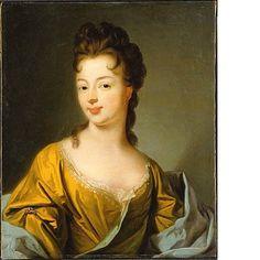 Pauline-Adhémar de Monteil de Grignan, Marquise de Simiane (1674-1737), 17th century, French school (National Museum of Sweden)