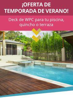 DECK de WPC para quinchos y terrazas | Roller Plus